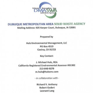 Waste Diversion Options Study Cover 08-01-2009