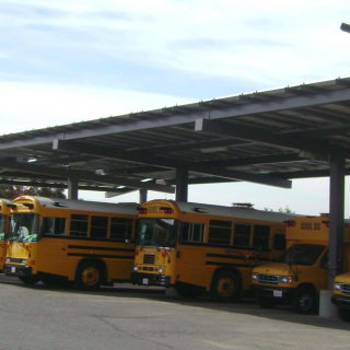Milpitas School District Solar Carports 2
