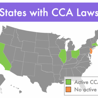 States with laws enabling community choice aggregation