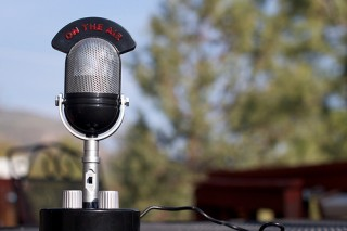 Radio Microphone with On Air