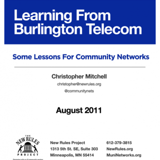 learning from burlington telecom cover