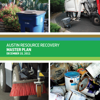 Austin Resource Recovery Master Plan cover