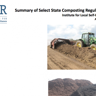 State Composting Policies cover