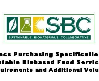 Food Purchasing Specifications http://www.ilsr.org/initiatives/biomaterials/