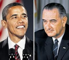 obama and lbj