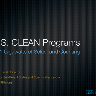 US CLEAN programs.001