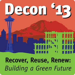 BMRA Decon 13 conference logo