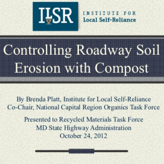 Compost Soil Erosion Slide