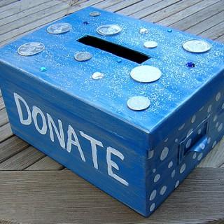 Donating box