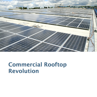 commercial solar grid parity report ILSR 2012 cover page