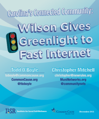 Wilson Gives Greenlight to Fast Internet