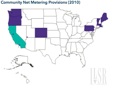 Community Net Metering Provision 2010