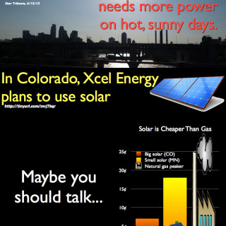 solar gas infographic xcel