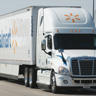 Photo: Walmart truck