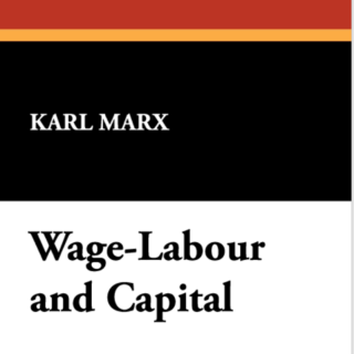 wage labor and capital image