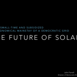 future of solar presentation cover