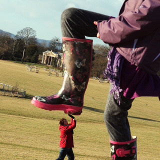 big boot stomping small person - flickr kennysarmy