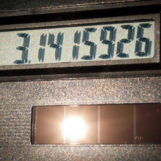 solar calculator - flickr Derek Gavey