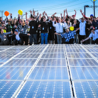 community-solar-people-cheering-BlackRockSolar-flickr