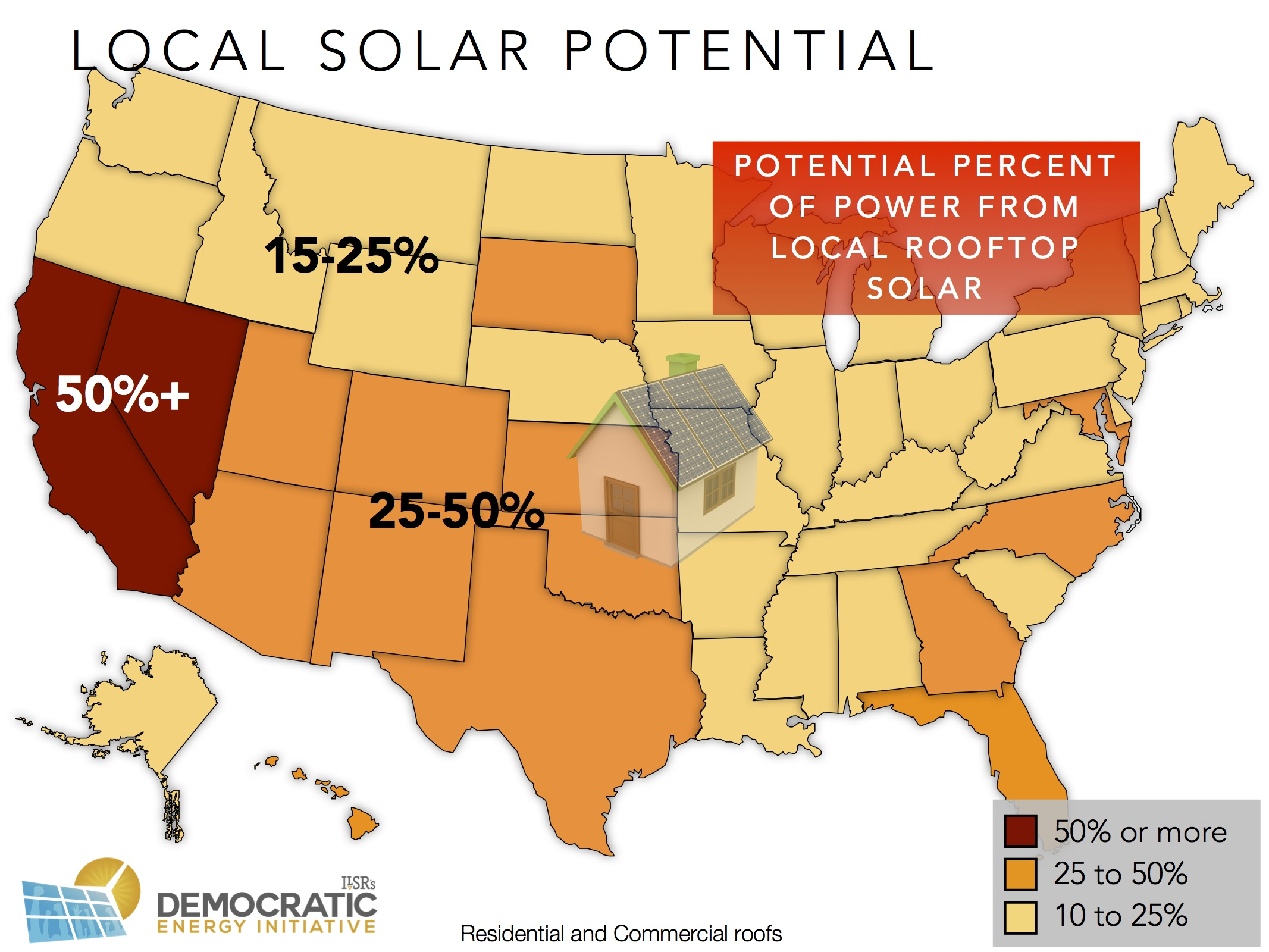 Why Havent Cities Covered Their Buildings In Solar Institute - Solar power map us