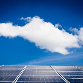 cloud over solar panel - flickr  Pieter Morlion