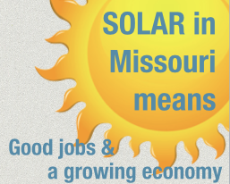 featured image for solar missouri infographic post