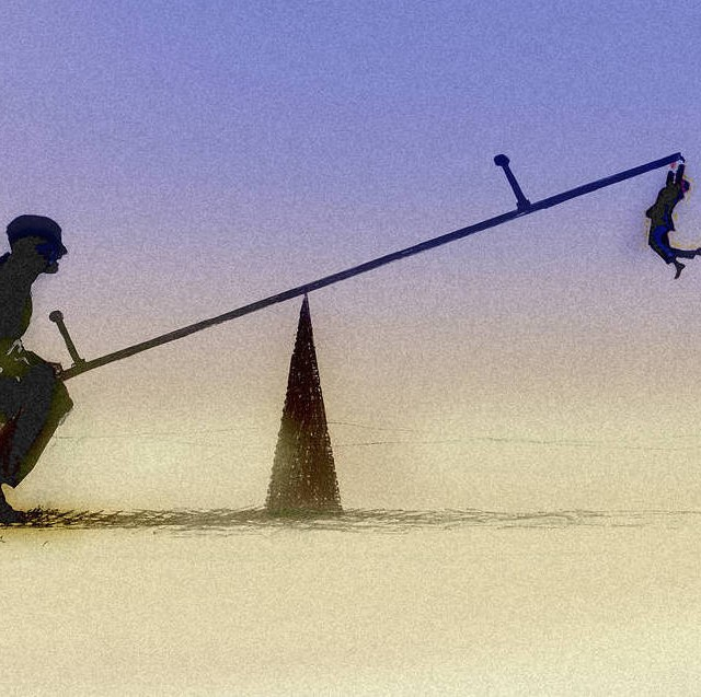 Illustration: Seesaw