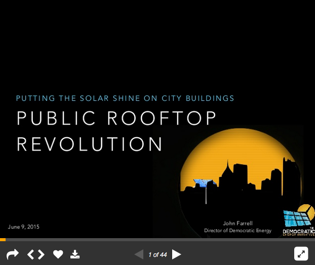 Public Rooftop Revolution presentation play slideshow