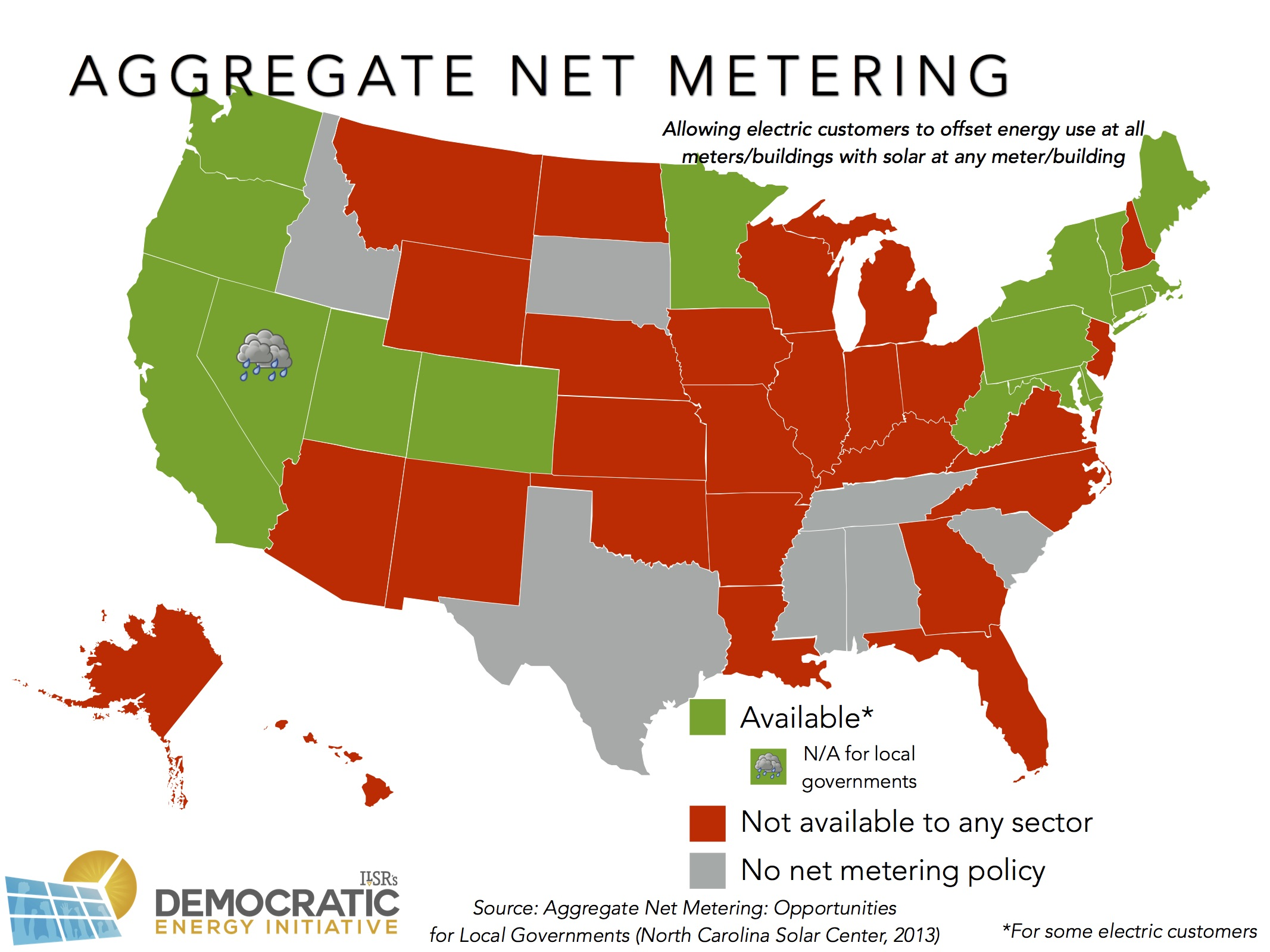 Let Our Powers Combine Just  States Allow Aggregate Net - Renewable energy sources by location in us map