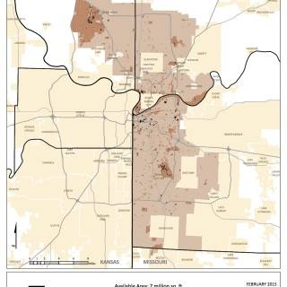 kansas city solar potential map