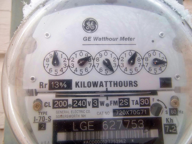 electric meter - flickr Joe
